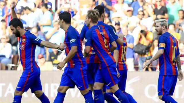 [Video] Cuplikan Gol Barcelona 6-2 Real Betis (Liga Spanyol)