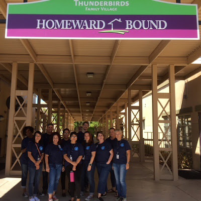 Rio Salado Northern and Downtown College Bridge Pathways teams at Homeward Bound