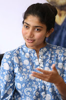 Sai Pallavi looks super cute in plain dress at her interview in Telugu about movie Fidaa ~ Exclusive Celebrities Galleries 050.JPG