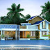 3 bedroom mixed roof 1730 sq-ft house rendering