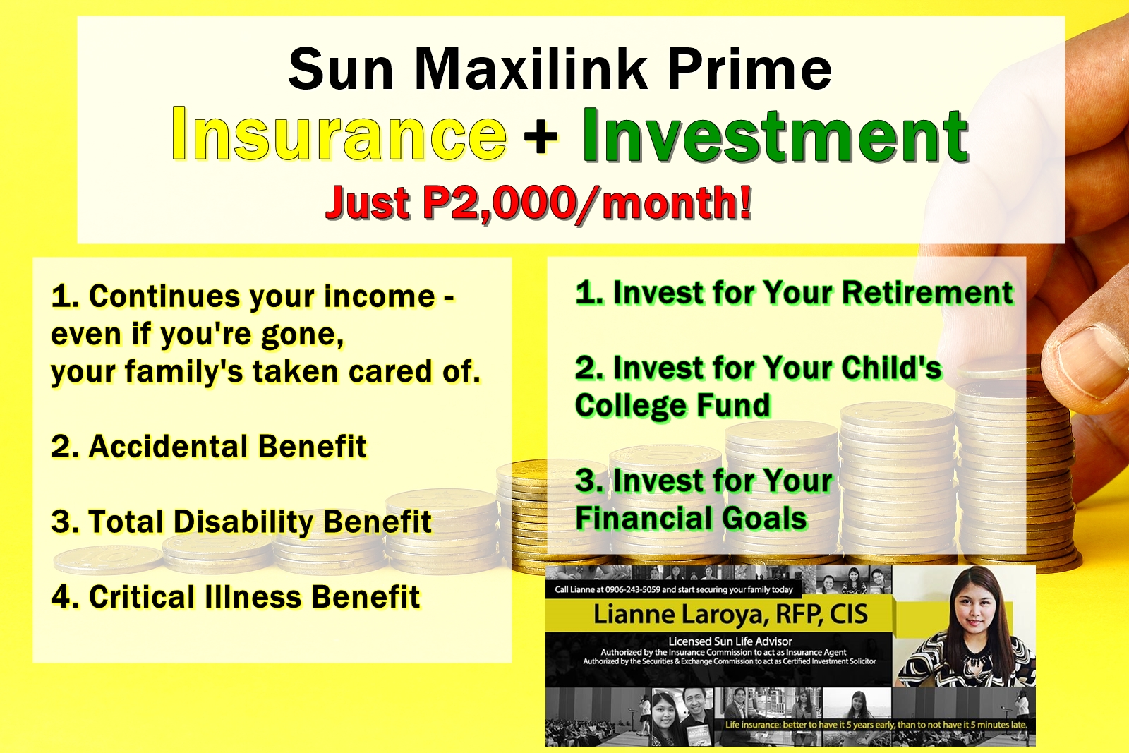 Sun Life Insurance Why Sun Maxilink Prime Is My Client S Top