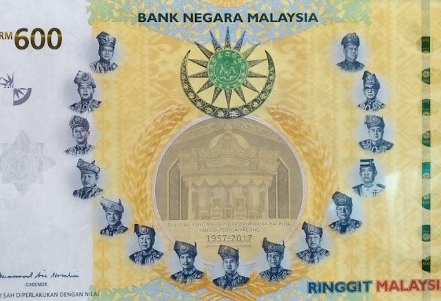 Bank Negara Akan Keluarkan RM60 dan RM600