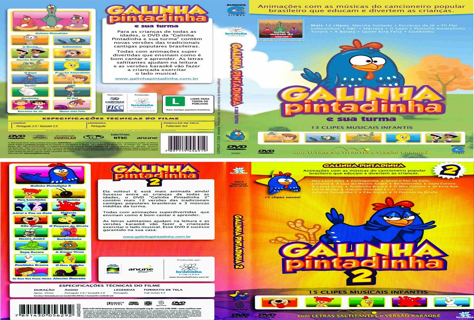 The best: dvd da galinha pintadinha completo online dating