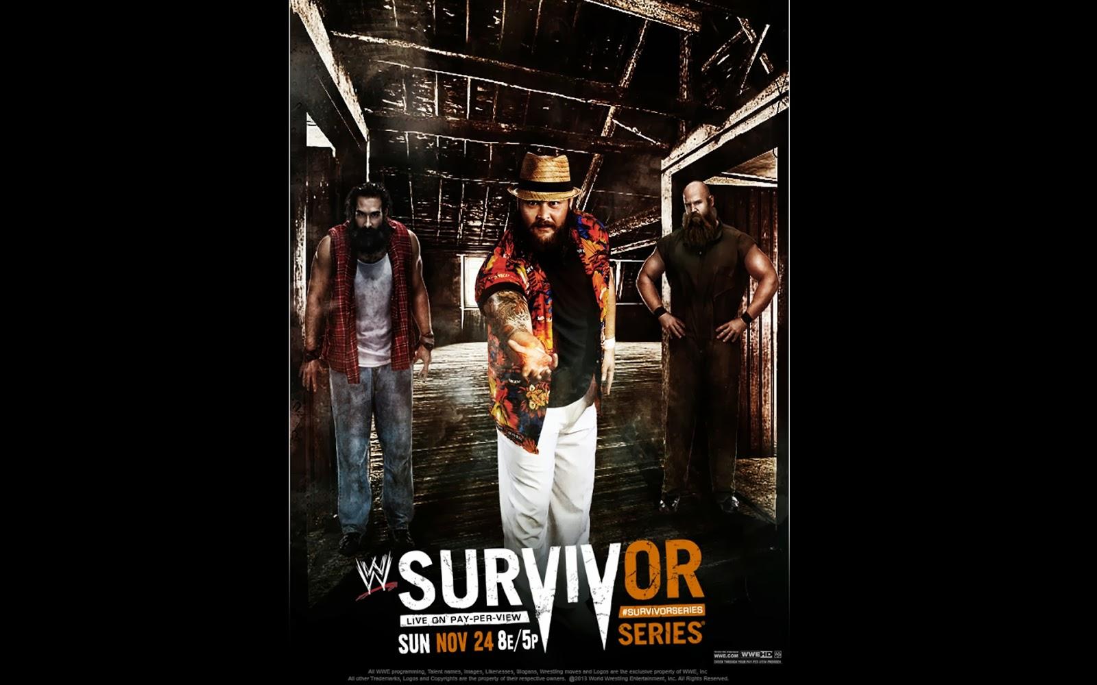 Wwe Survivor Series 2013 Poster Ravishment: Sur...