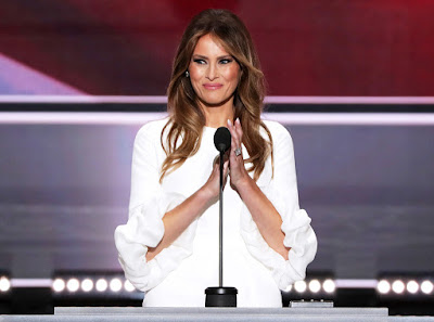 Melania Trump's dress sells out less than an hour after her RNC speech
