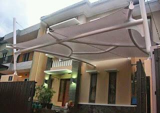 jasa pembuatan canopy tenda membrane
