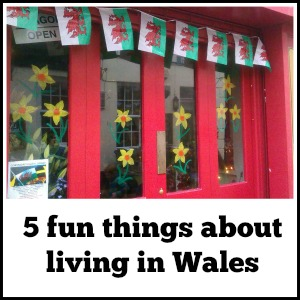 5 fun things about living in Wales, as part of Around the World in 30 Days- Geography and cultural activities for toddlers and preschoolers