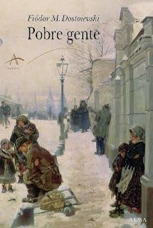 Portada del libro pobres gentes de dostoievski descargar epub y pdf gratis