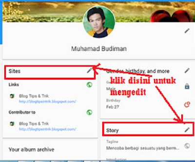 About Google plus Muhamad Budiman blog tips & trik