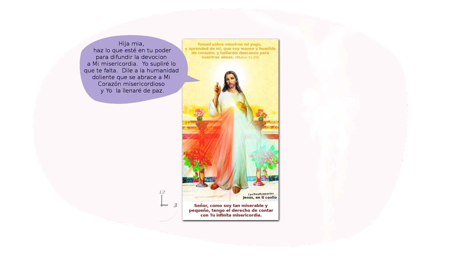 mensaje de la divina misericordia a sus devotos