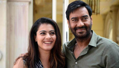 Evergreen Smile on Ajay and Kajol Face | Couple Photo