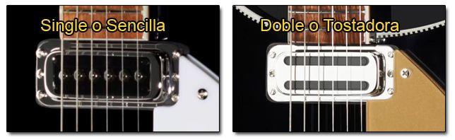 Diferentes Tipos de Pastillas de las Guitarras Rickenbacker