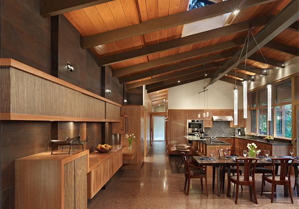Inspirasi Rumah Kayu Modern Alami