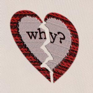 Broken Heart DP for WhatsApp