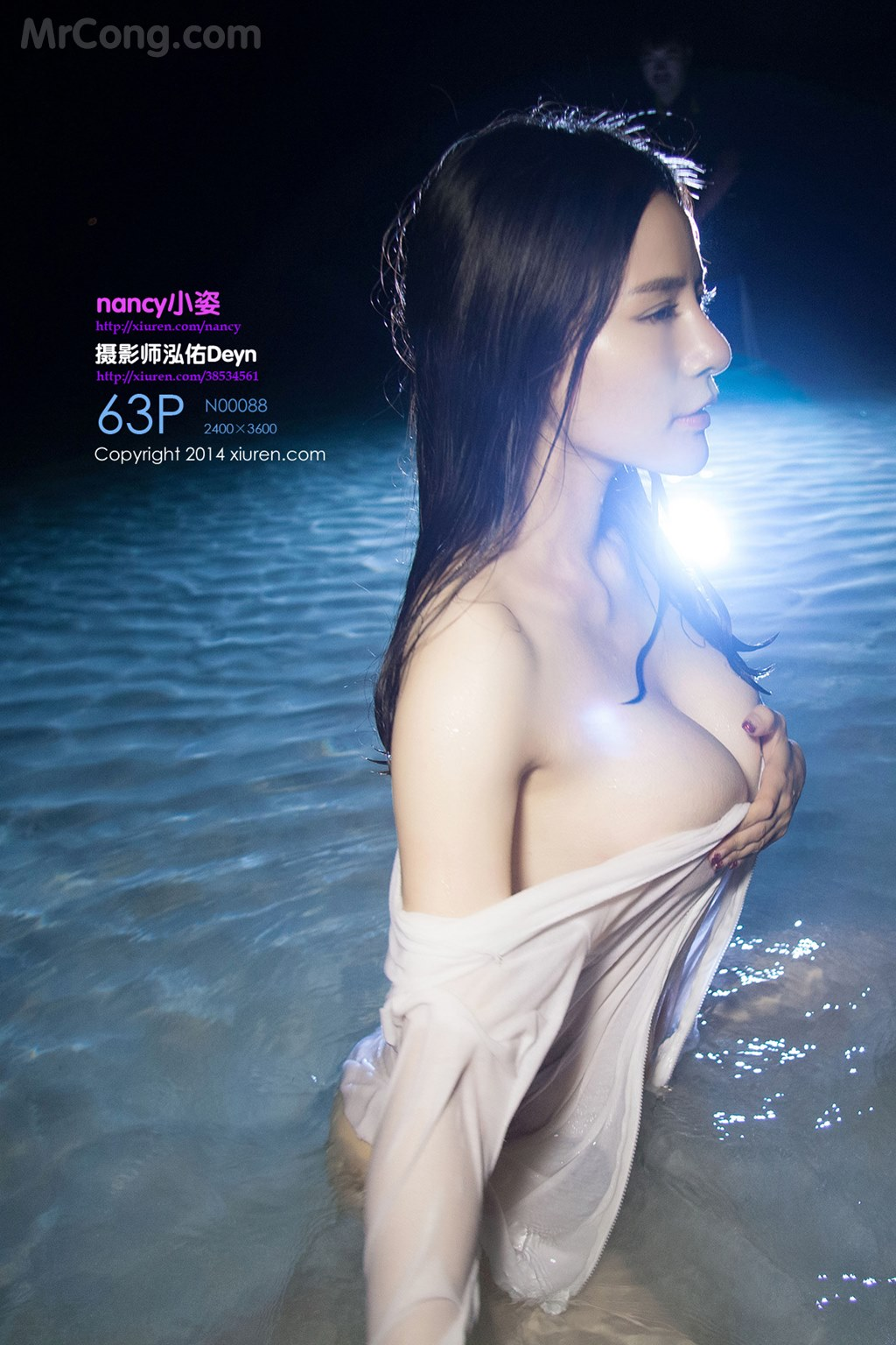 XIUREN No.088: Người mẫu Nancy (小姿) (64 ảnh)