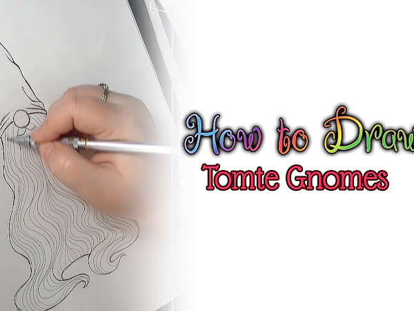Tutorial Thursday? =) How to Draw a Tomte Gnome!