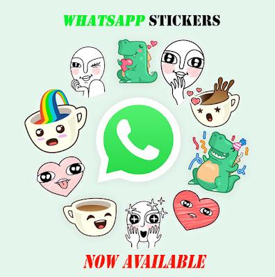 Whatsapp stickers,new whatsapp features