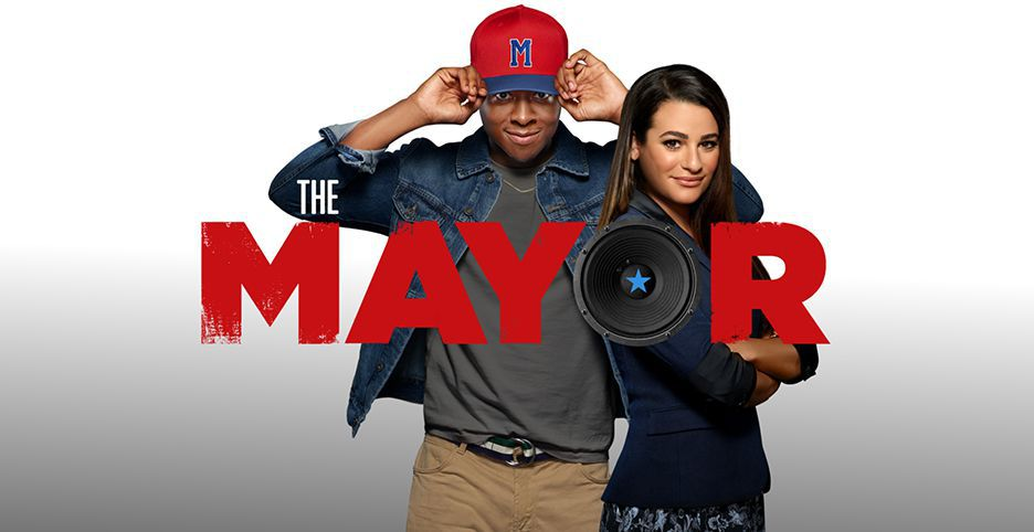 The Mayor Poster Lea Michele Brandon Micheal Hall