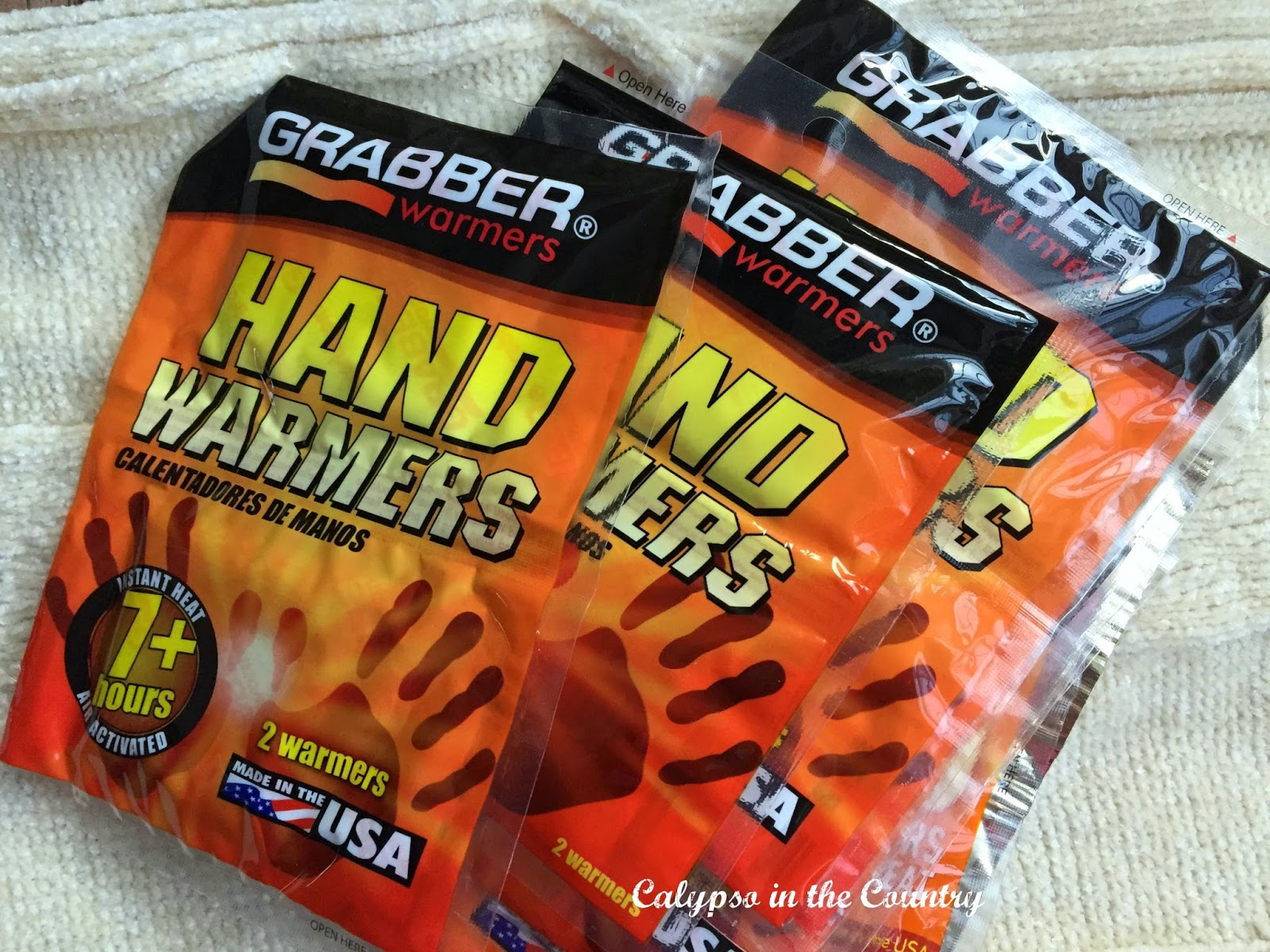 Hand Warmers - One of my essentials to stay warm