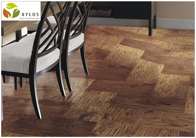 """Parkett"" by Xylos: elegant decorative flooring"