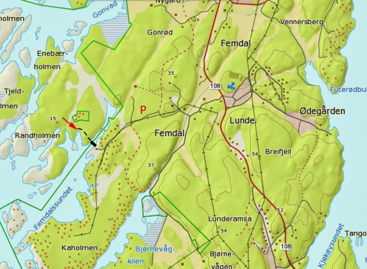 kråkerøy kart Buldrefører Randholmen på Kråkerøy | Klatring på Hvaler kråkerøy kart