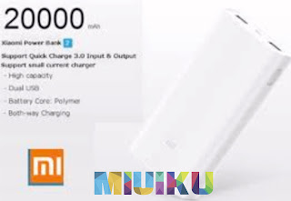 daftar mi power bank - xiaomi mi power bank 2 20000 mah