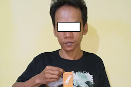 Pengedar Shabu Berhasil Dibekuk Satresnarkoba Polres Gresik