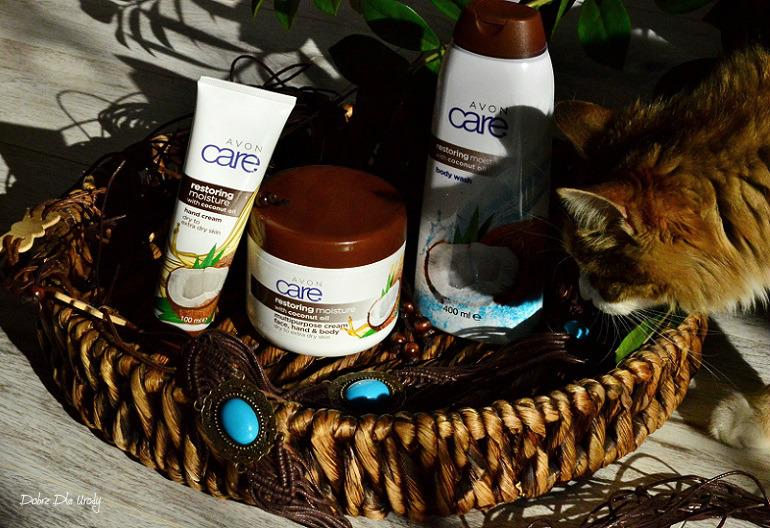 Kosmetyki do pielęgnacji ciała Avon Care z Olejem Kokosowym