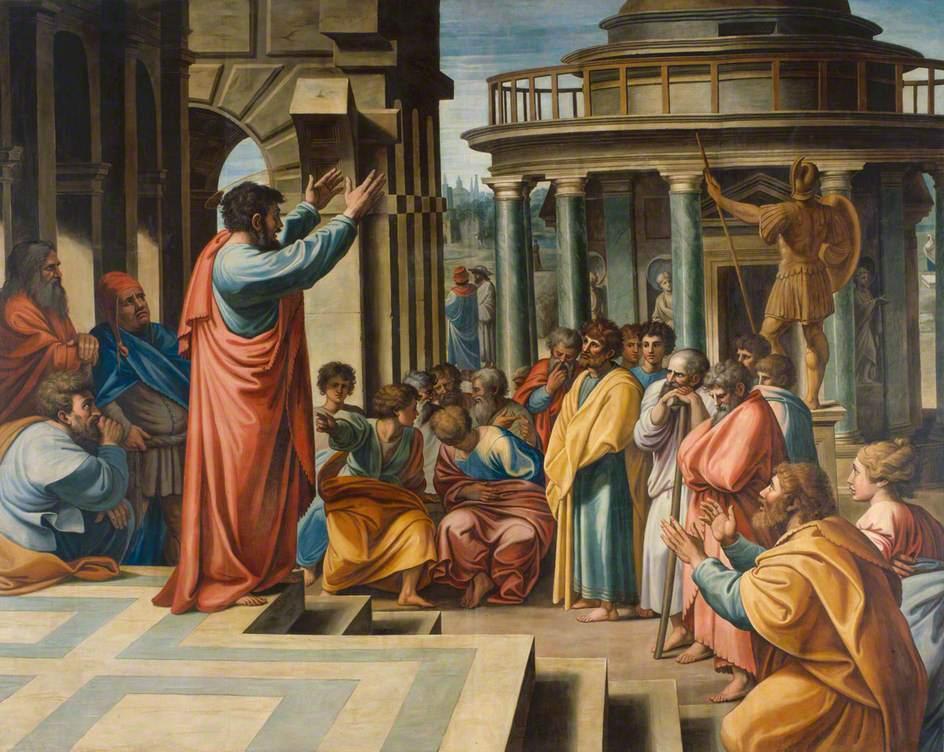 Los Hechos de los Apóstoles. ¿Sacralidad o fraude? - Página 3 Pavel-areopag-atena