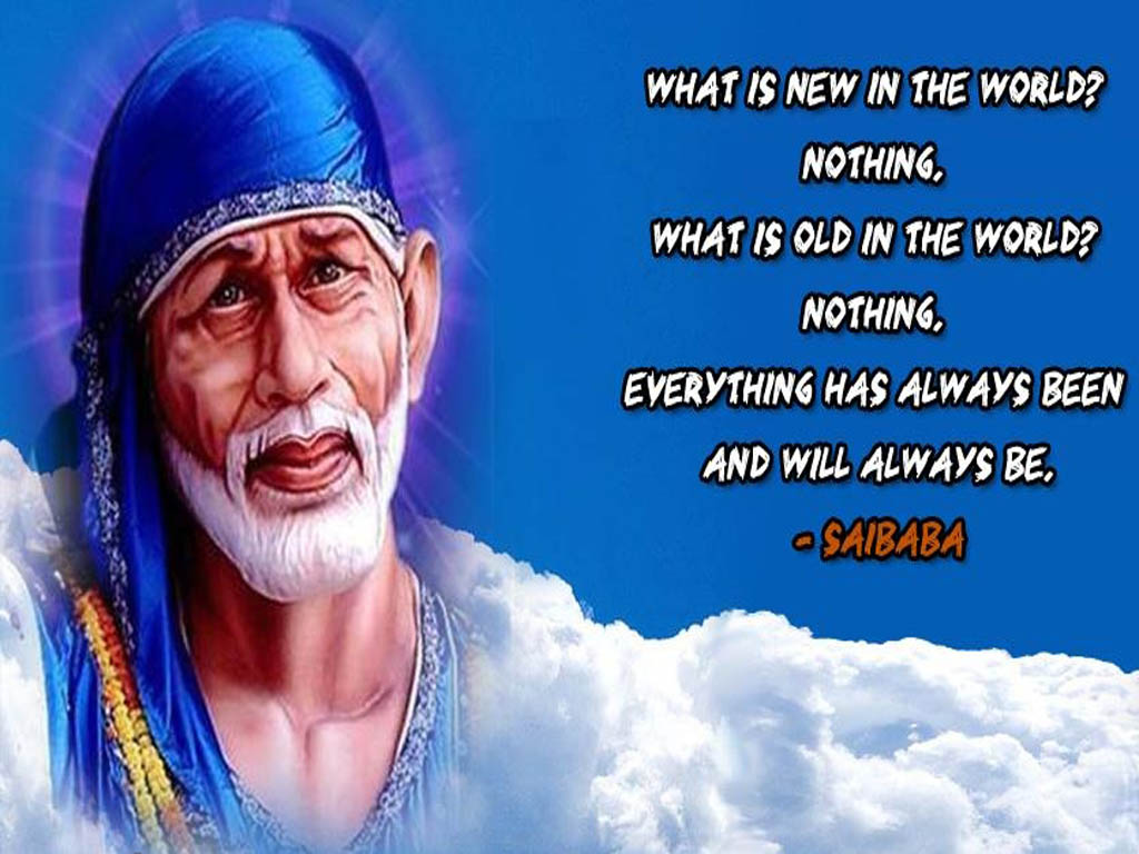 Sai Baba Inspiring Life Quotes HD Wallpapers Download | God