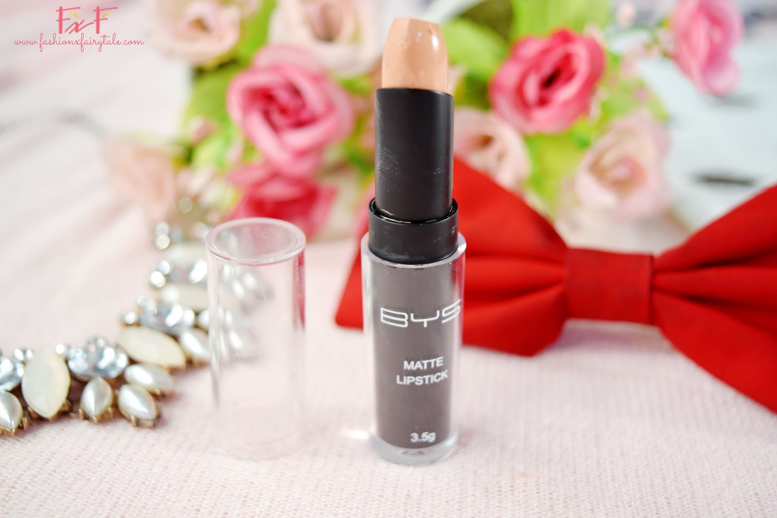 BYS Matte Lipstick in Latte To Go | Review & Swatches