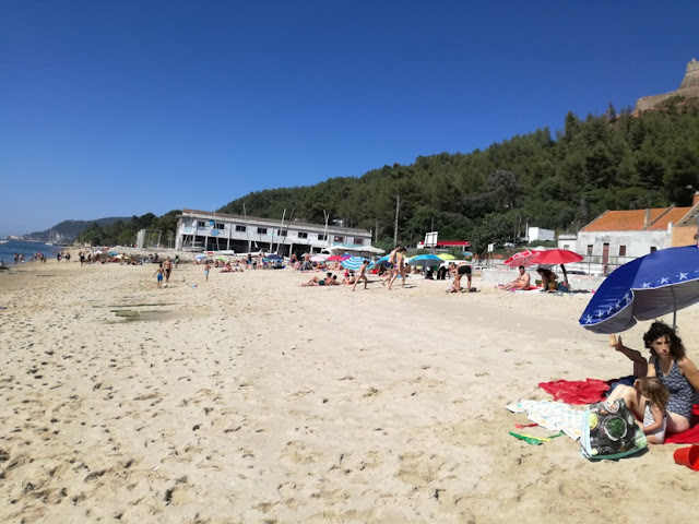 Praia Fluvial em Setúbal