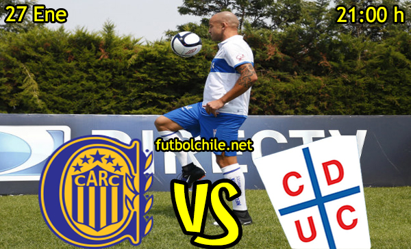 Ver stream hd youtube facebook movil android ios iphone table ipad windows mac linux resultado en vivo, online: Rosario Central vs Universidad Católica