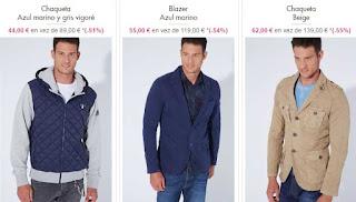 chaquetas para hombre de Desigual