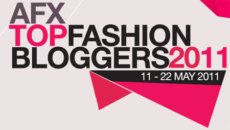 AFX TOP FASHION BLOGGERS 2011