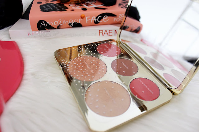 jaclyn hill, becca cosmetics, mineral blush, luminous blush, champagne collection, champagne pop, prosecco pop, amaretto, pamplemousse, rose spritz, review, swatch