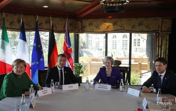 Країни Європи в G7 проти повернення Росії