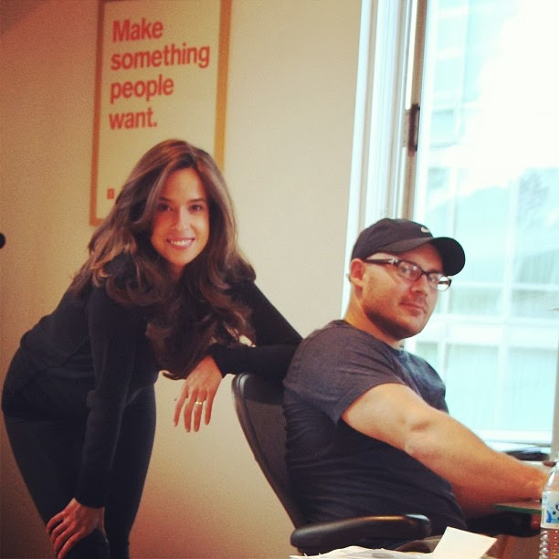 Katelyn Gleason and Lance Cotter, two of the founders of Eligible in San Francisco, CA
