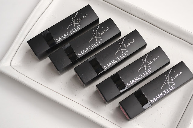 Marcelle Velvet Rouge Xpression Velvet Gel Review Swatches