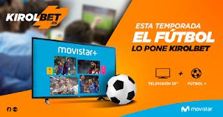 "kirolbet sorteo TV LED 55"" + liga y champions gratis temporada 2017-2018"