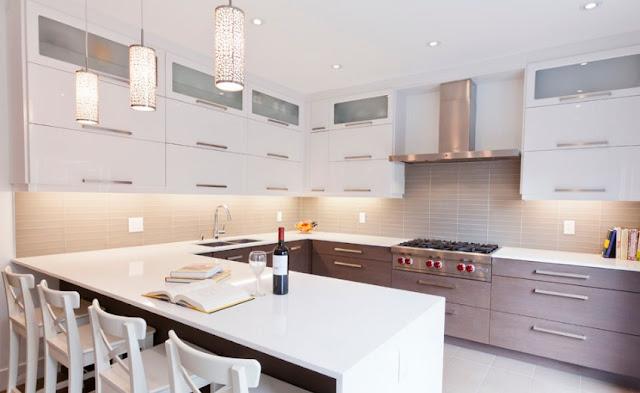 Model kitchen set minimalis untuk dapur kecil - desainrumahidaman.xyz