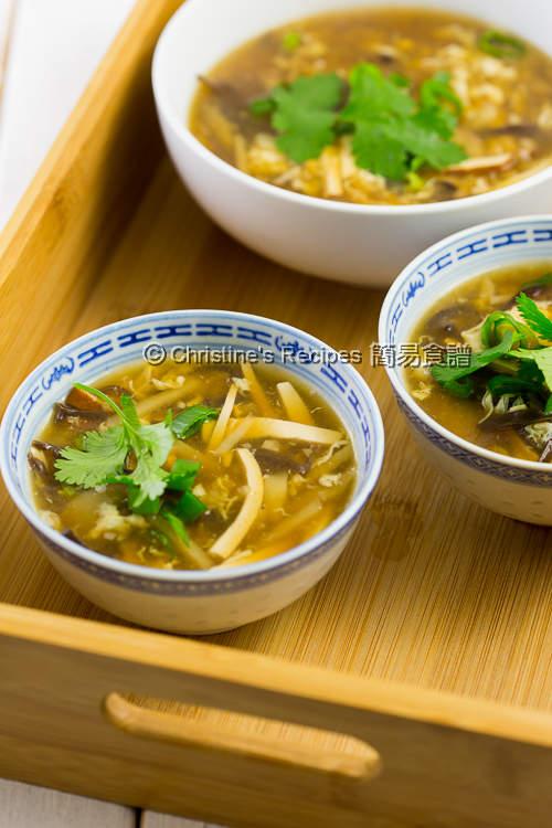 素酸辣湯 Vegetarian Hot and Sour Soup04