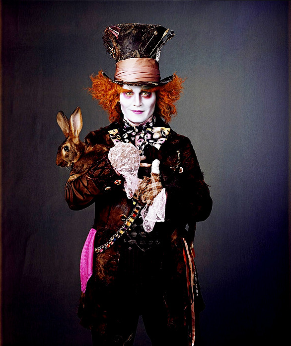 Colorete y Brocha  Carnavales. Sombrerero Loco de Tim Burton 03f07c214a0
