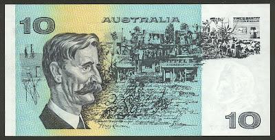 Australian notes ten dollar money image gallery
