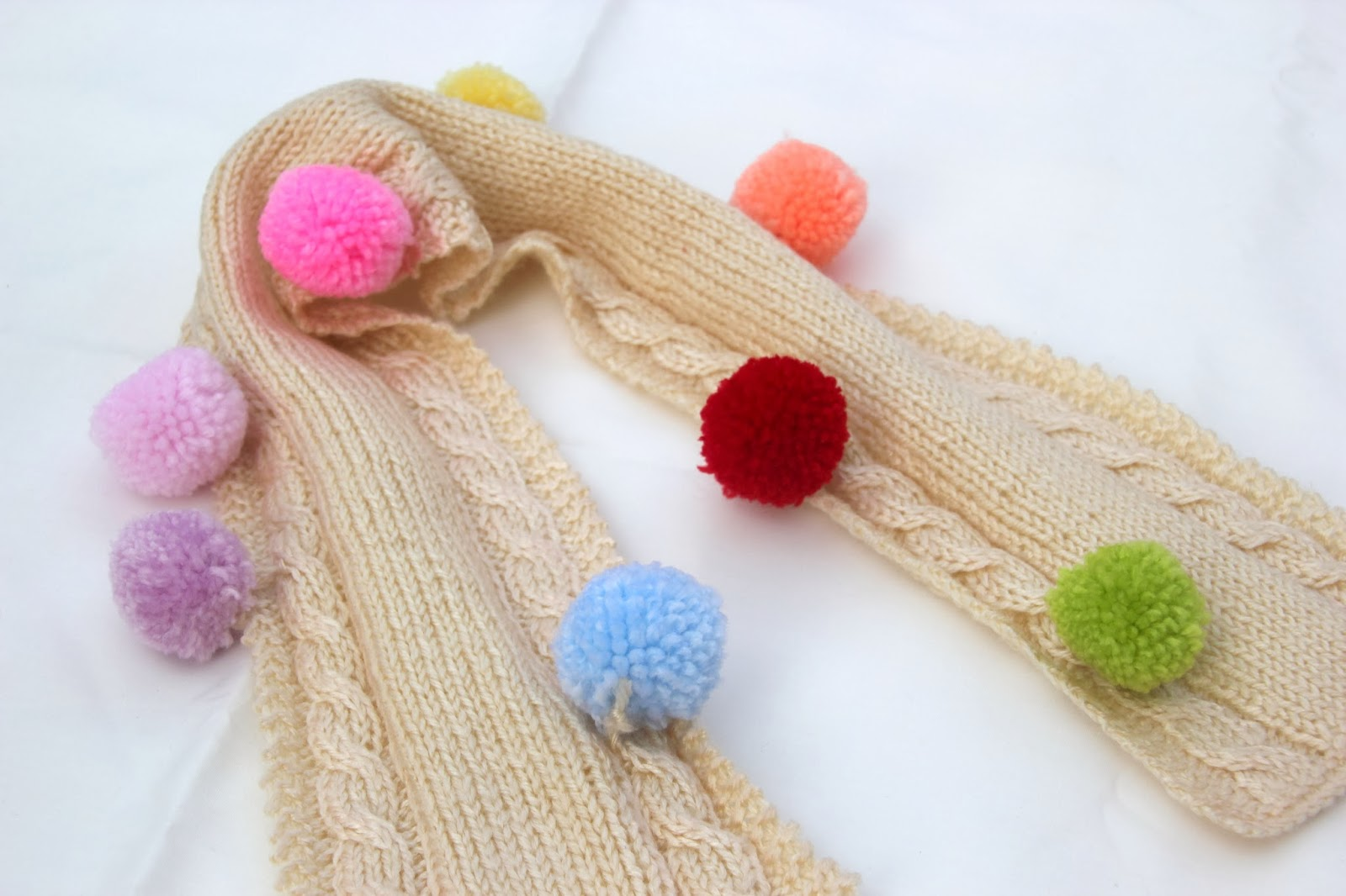 DIY Como hacer una bufanda para niños de 2 o 3 años  21956529d71