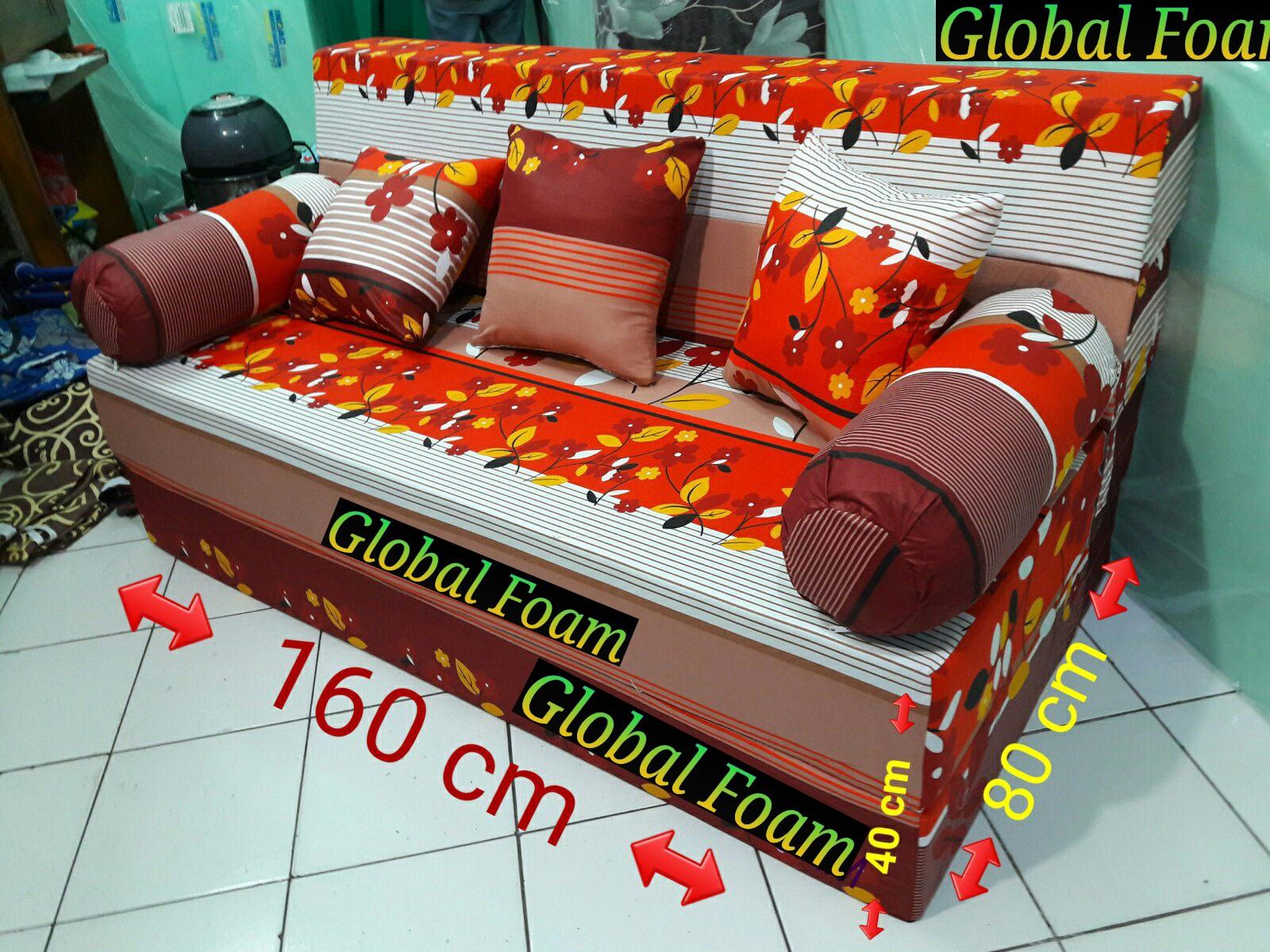 harga cover sofa bed inoac cream sofas with removable covers kasur 2017 distributor busa asli global