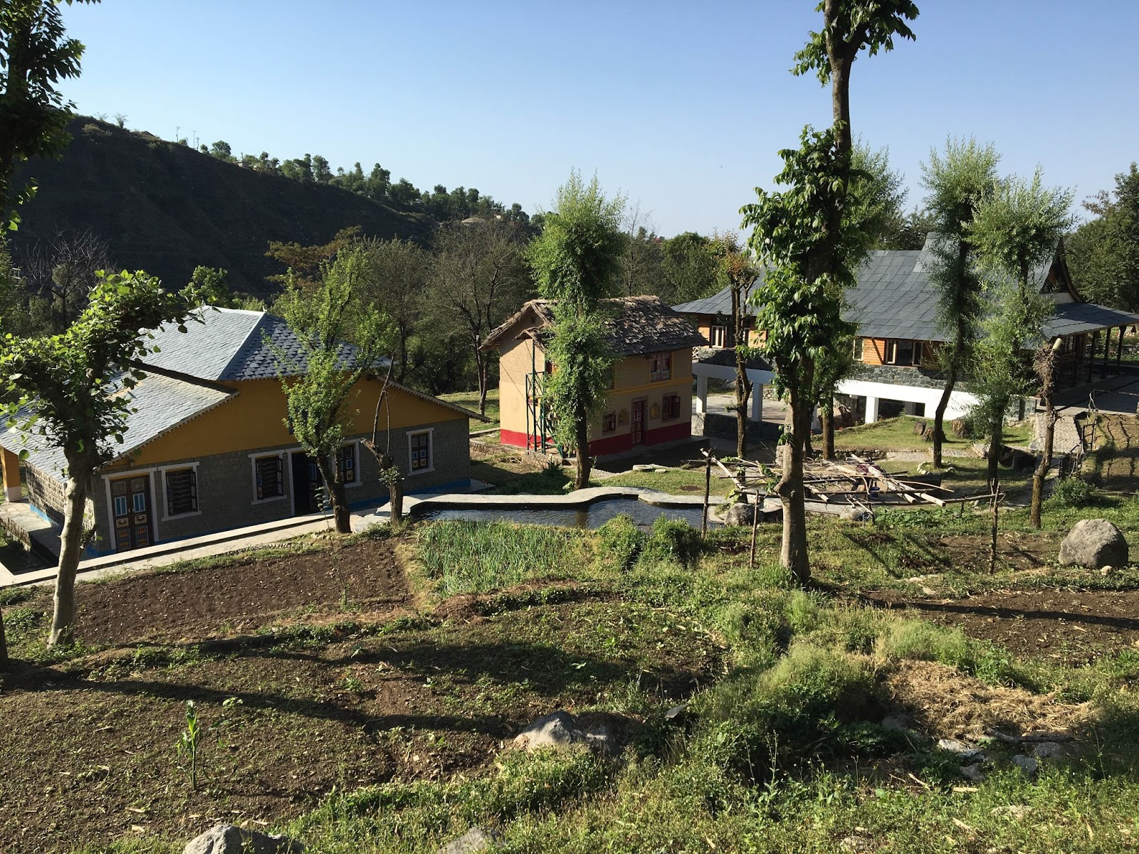 Himachal Heritage Village In Palampur Pradesh A Relaxing Authentic Himachali Style Cottage Resort