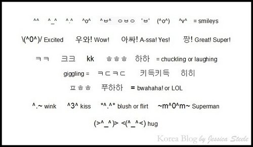 Do U Speak Text Deciphering Korean Emoticons 0 Korea Blog
