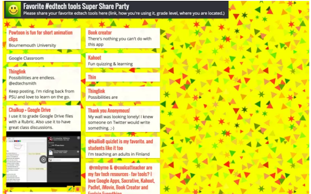 Ideas for Padlet in the classroom