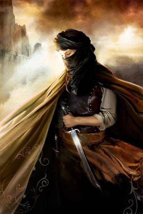 6 works depicting the life and times of Nusaybah Bint ka'ab - The Woman Warrior of Arabia